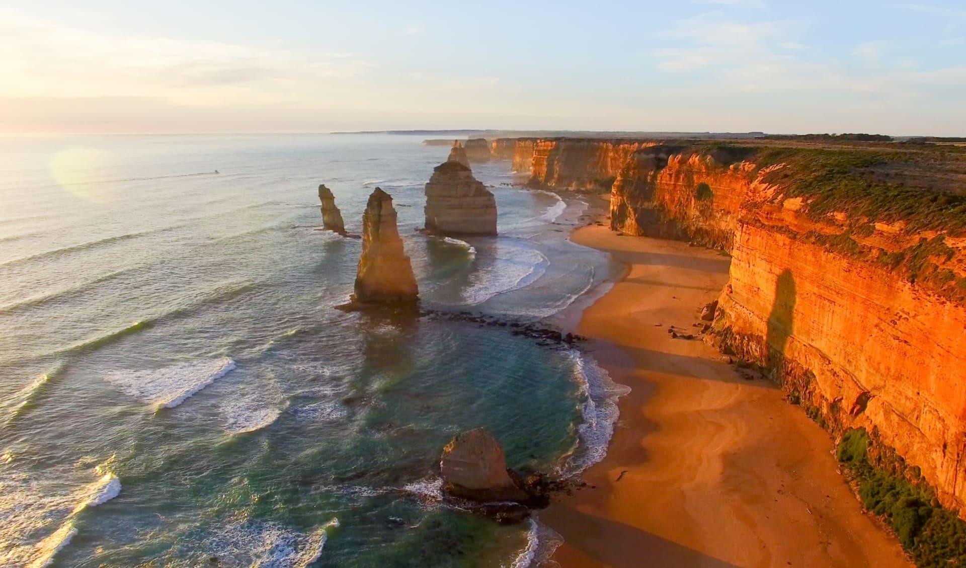 Melbourne to Darwin: Zwölf Apostel
