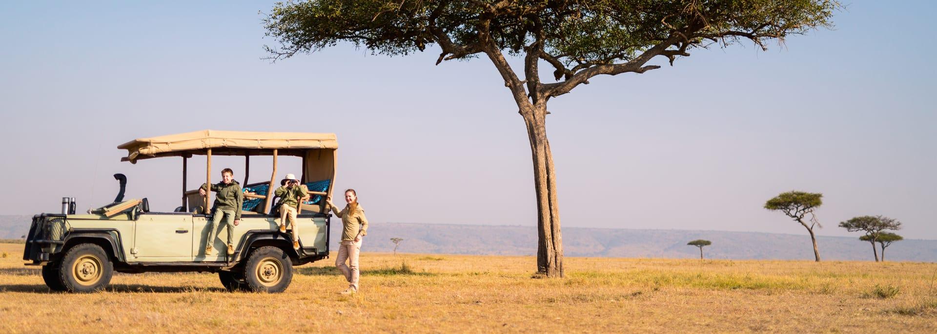Safari, Kenia