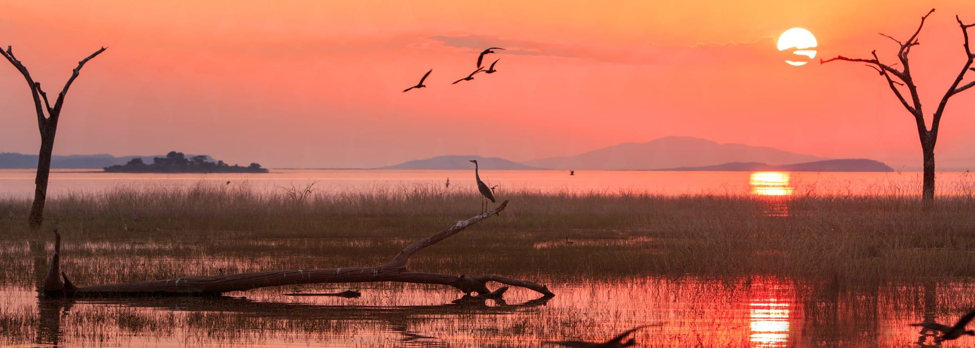 Lake Kariba, Sambia/Simbabwe
