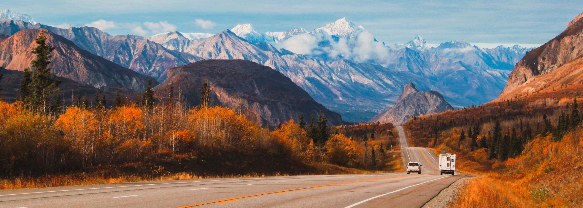 Strasse, Alaska
