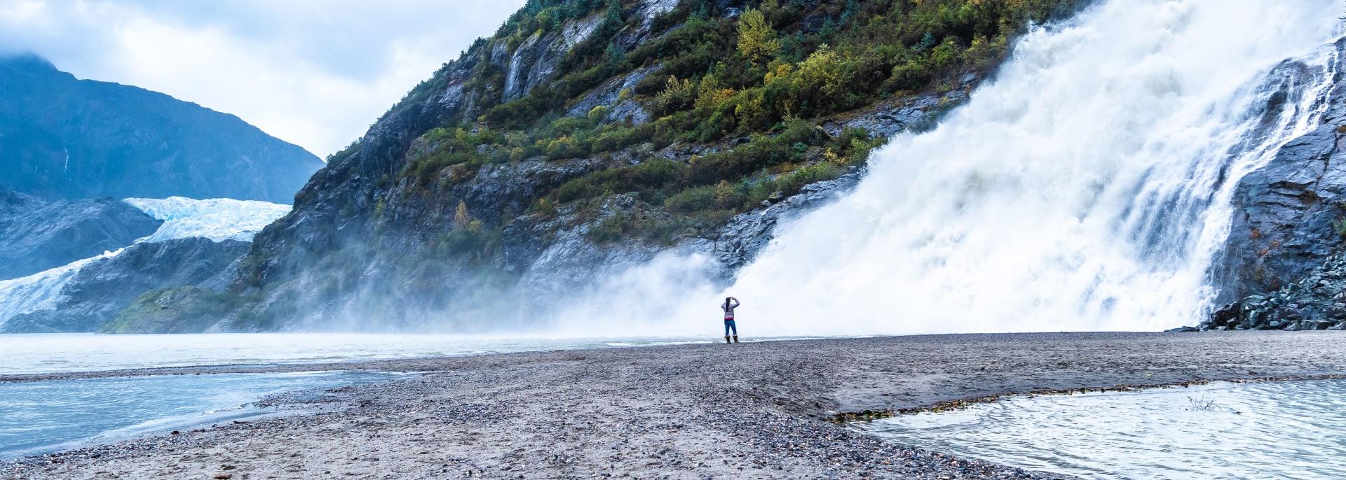 Nugget Wasserfälle, Alaska
