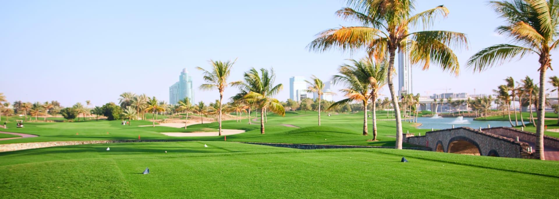 Golfplatz, Dubai