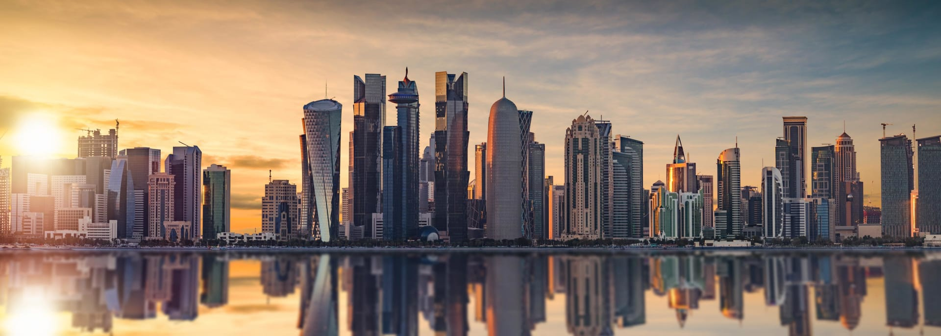 Skyline von Doha, Katar