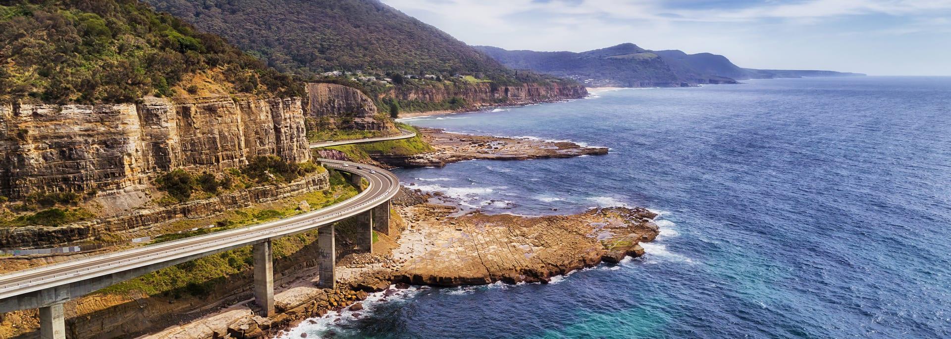 Sea Cliff Bridge, Australien