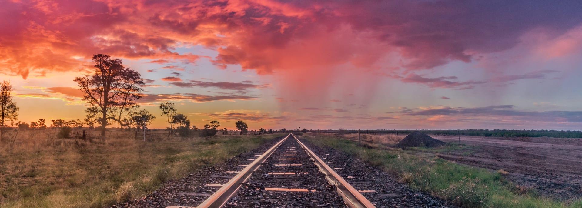 Zugreisen, Australien