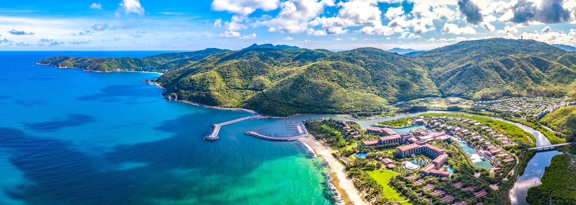 Yalong Bay, Sanya, Hainan Island, China