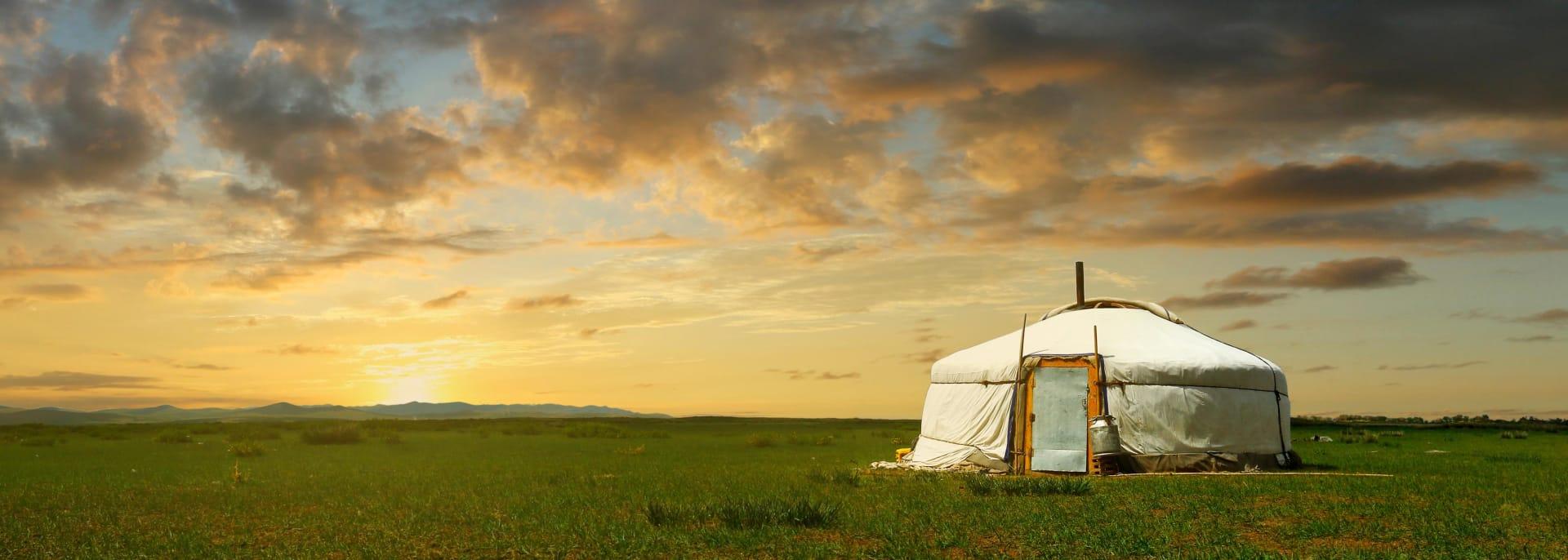 Jurte, Mongolei
