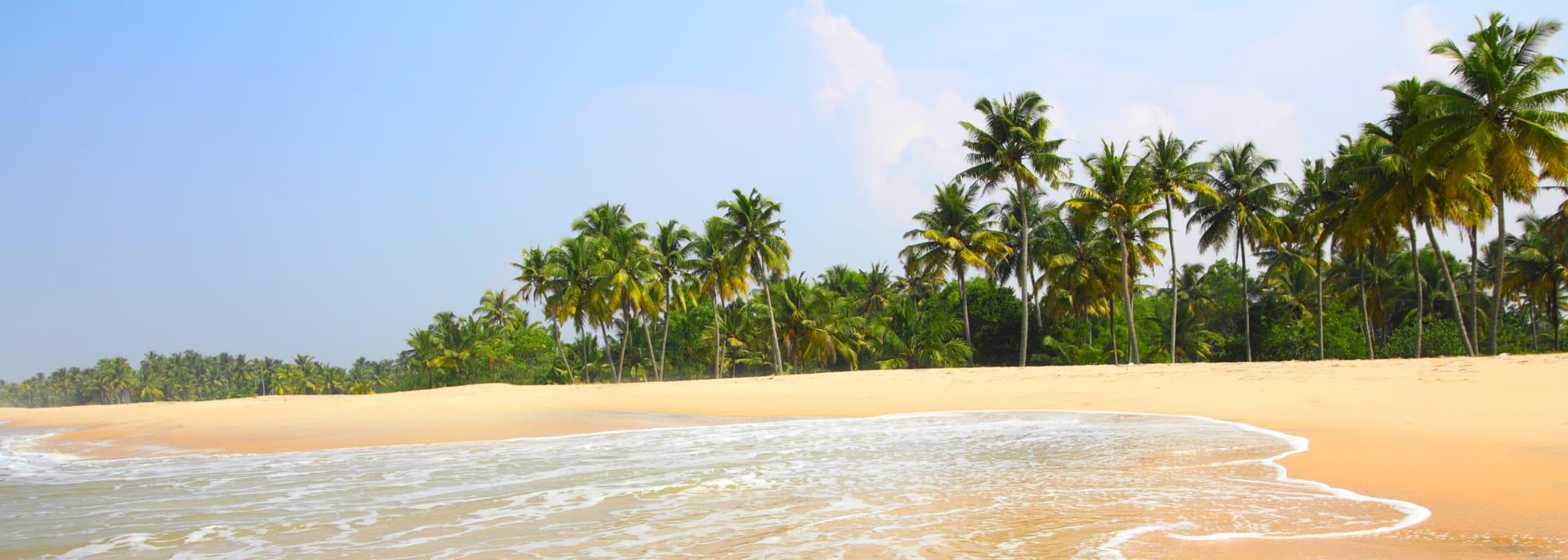 Strand, Indien