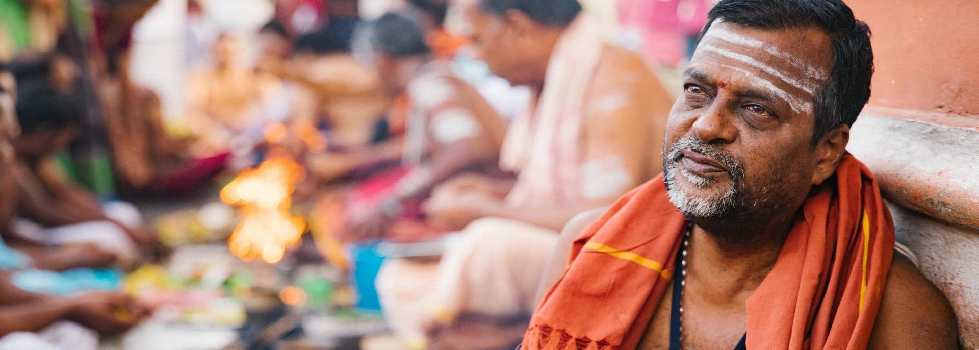 Hindu Priester, Indien