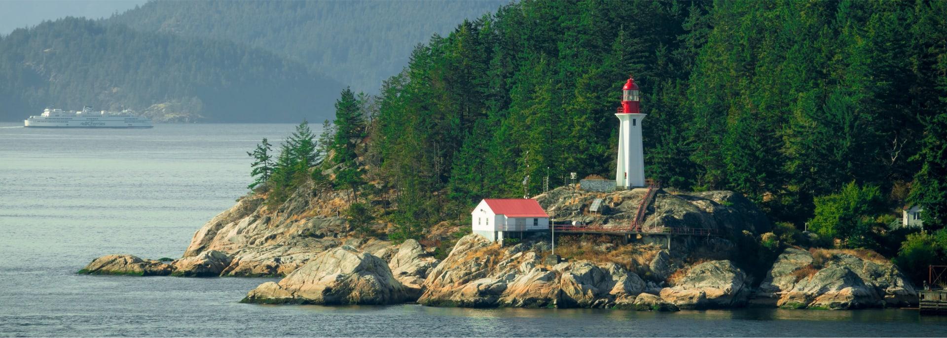 Lighthouse Vancouver Island
