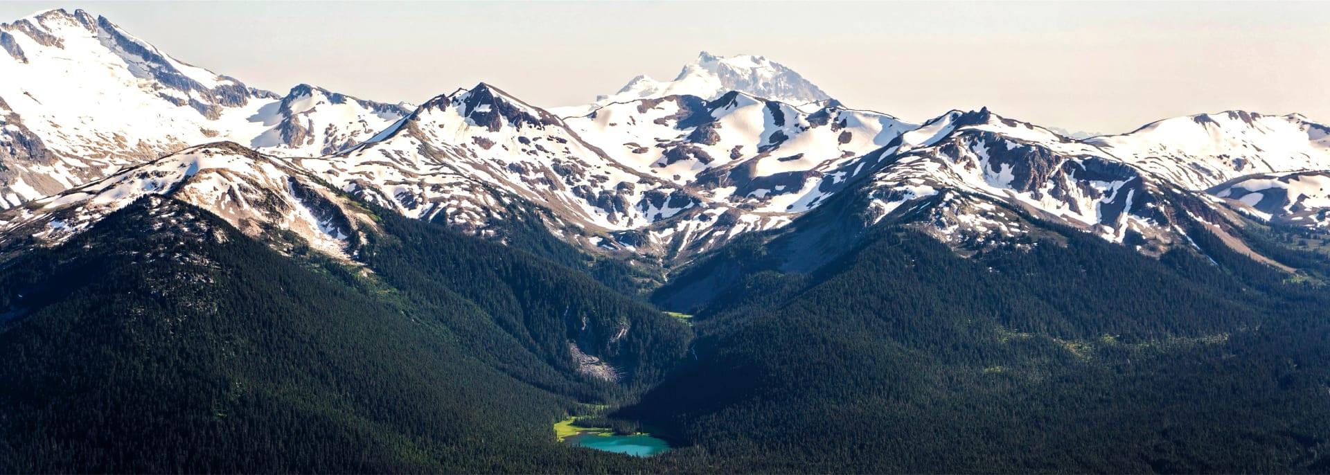 Top of mountain, Whistler, Canada