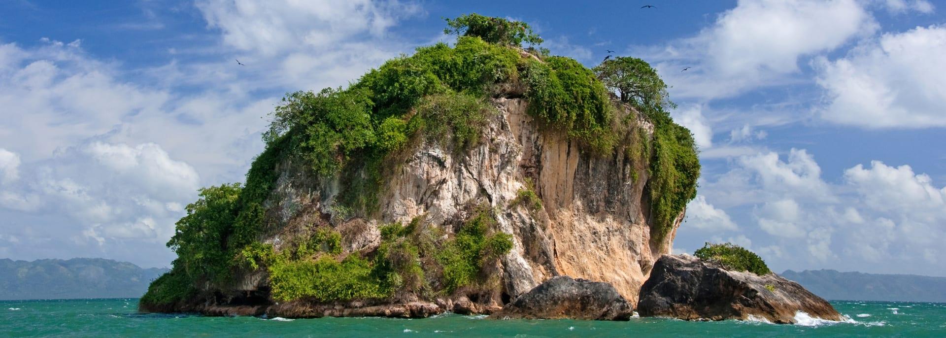 Los Haitises Nationalpark, Vogelinsel, Dominikanische Republik