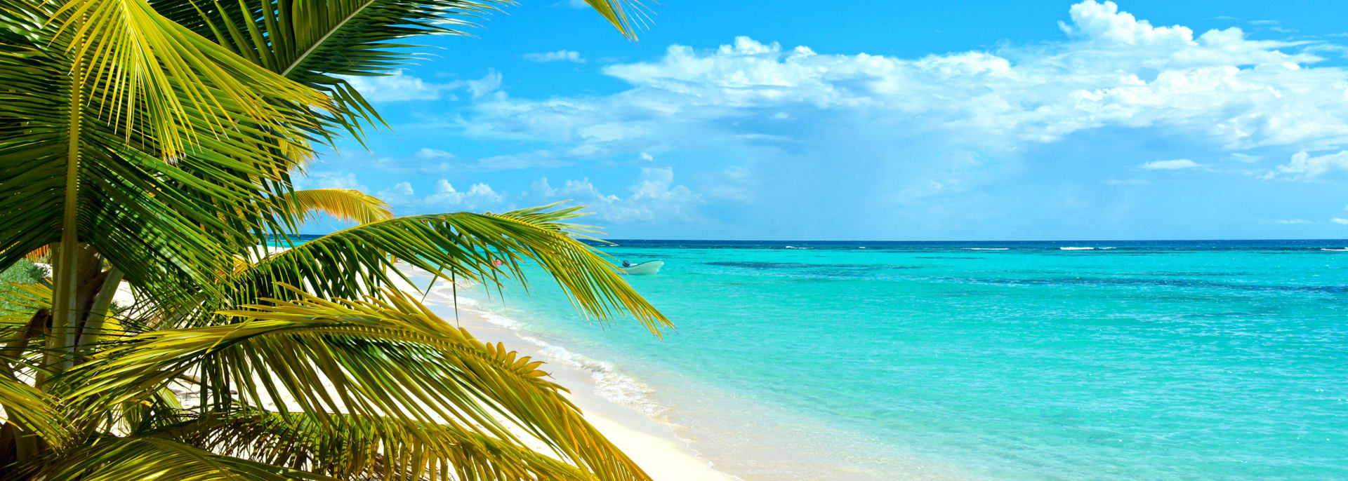 Karibische Insel.