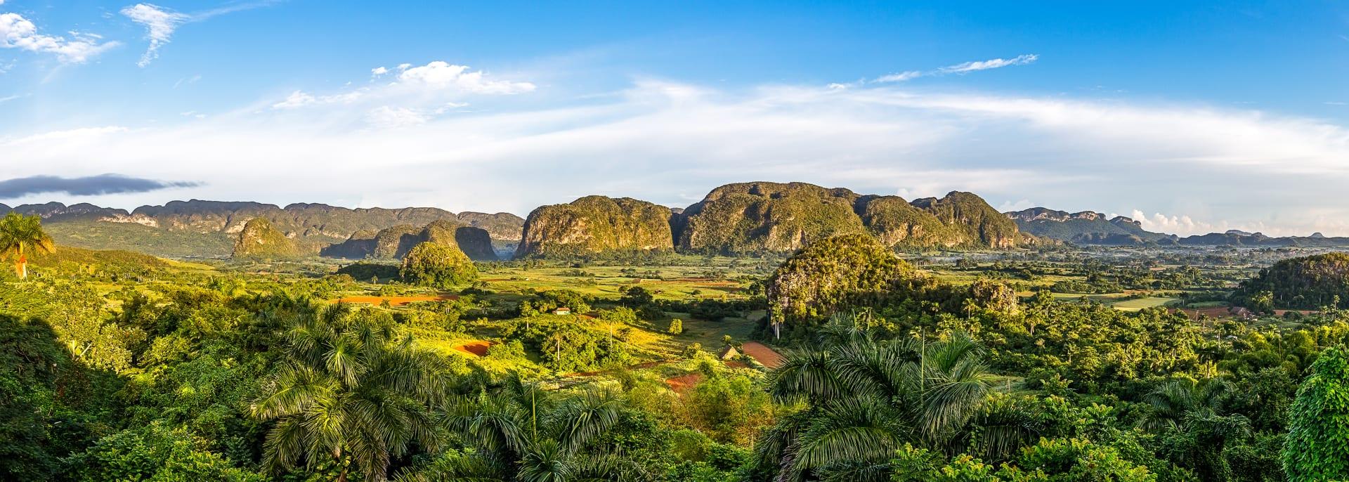 Landschaft im Vinales-Tal