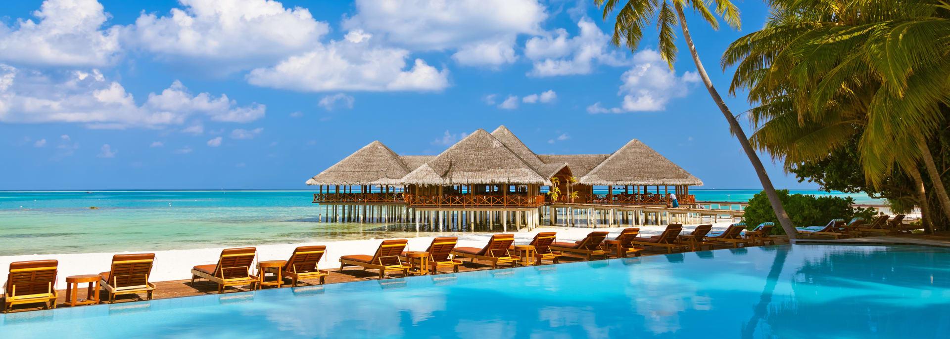 Strand und Insel, Malediven
