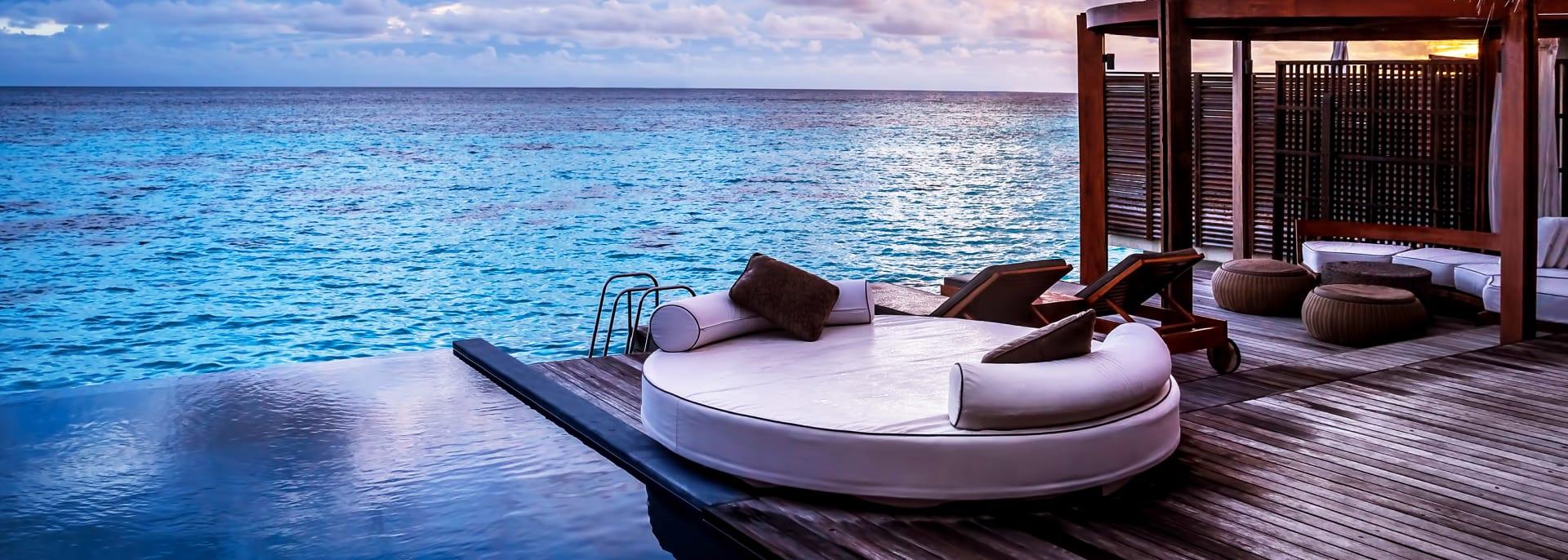 Bungalow Strand, Malediven