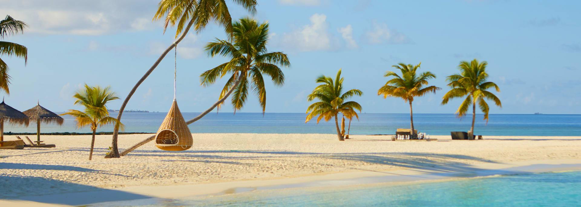 Sommer und Strand, Malediven
