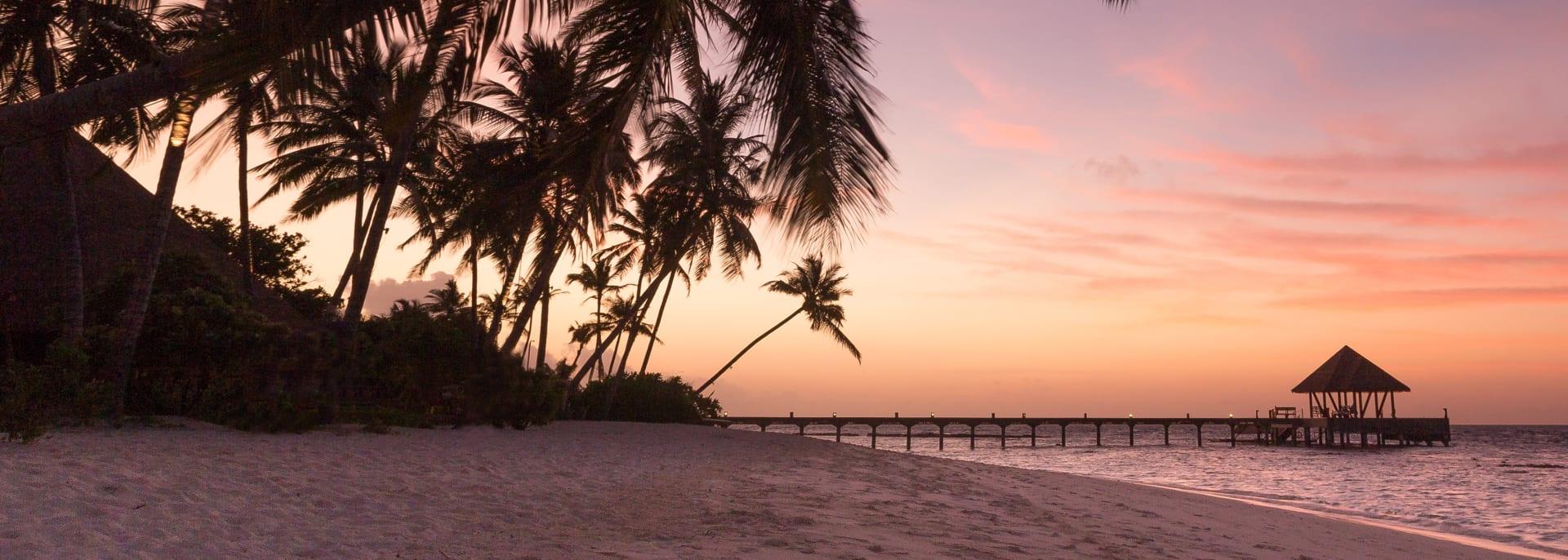 Strand gaafu, Malediven