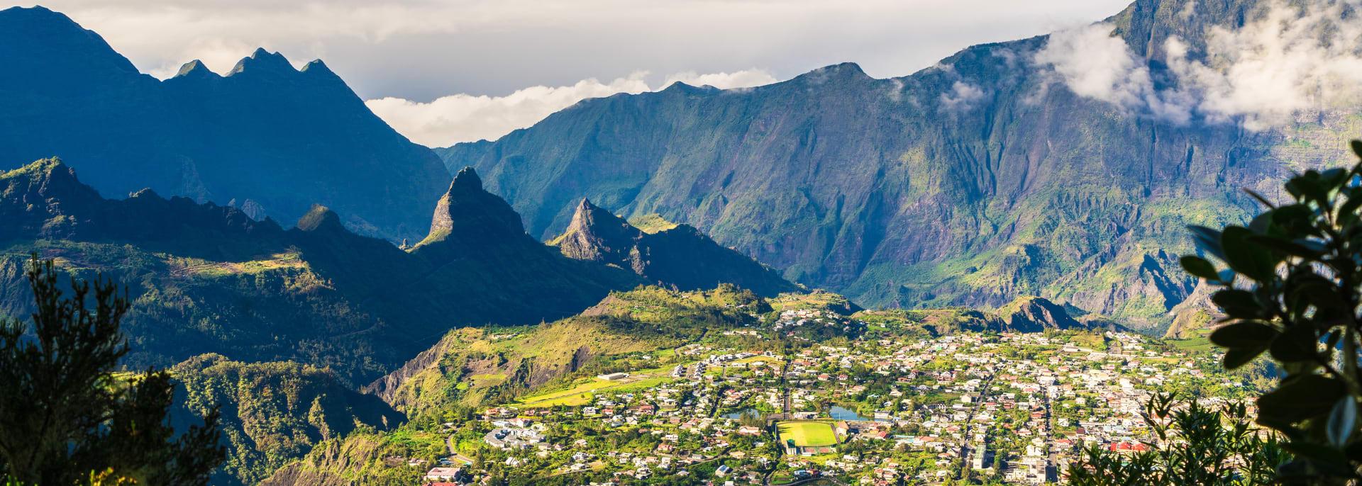 Cilaos Stadt, La Réunion
