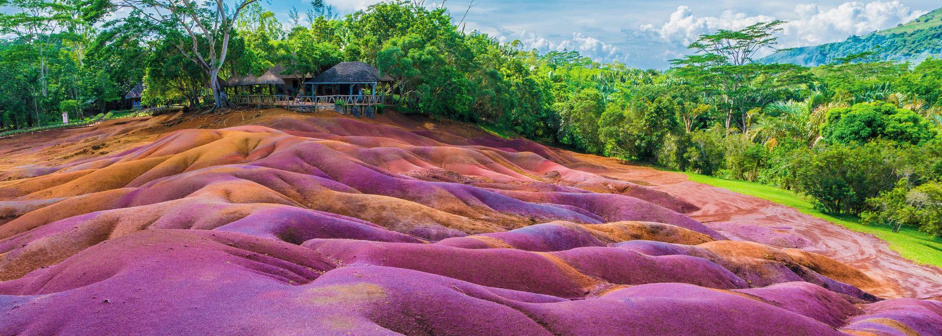 Sieben farbige Erde, Chamarel, Mauritius
