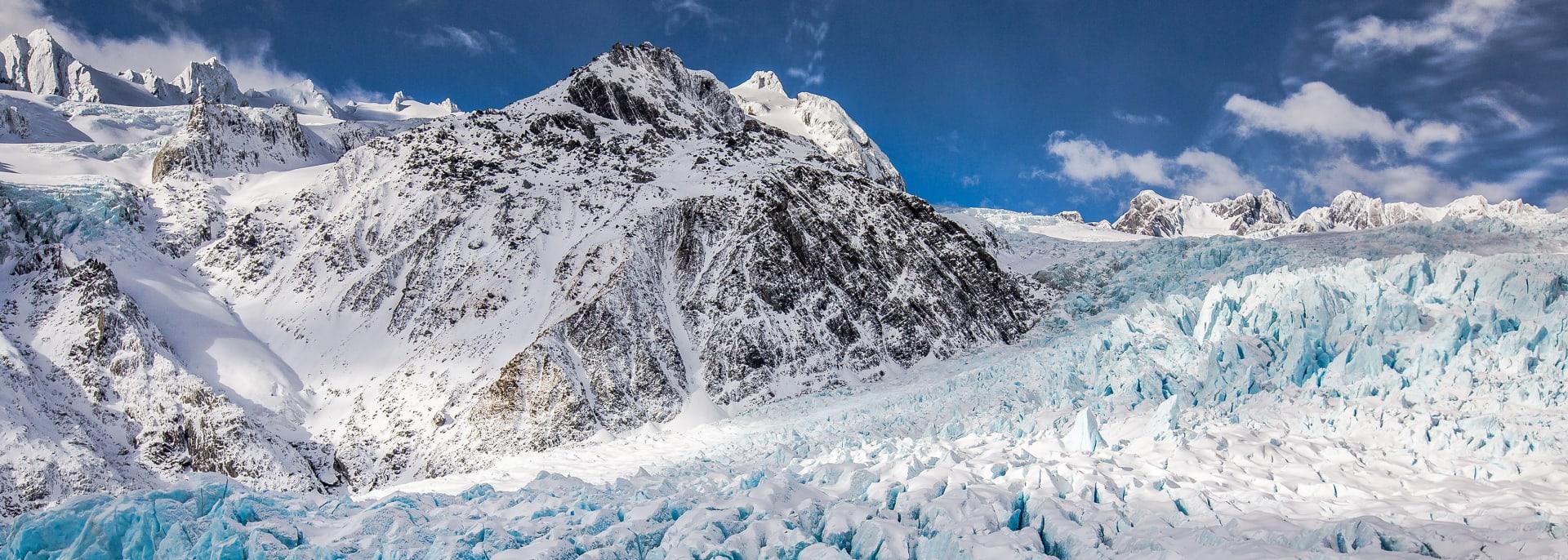 Fox- und Franz Josef Gletscher, Neuseeland