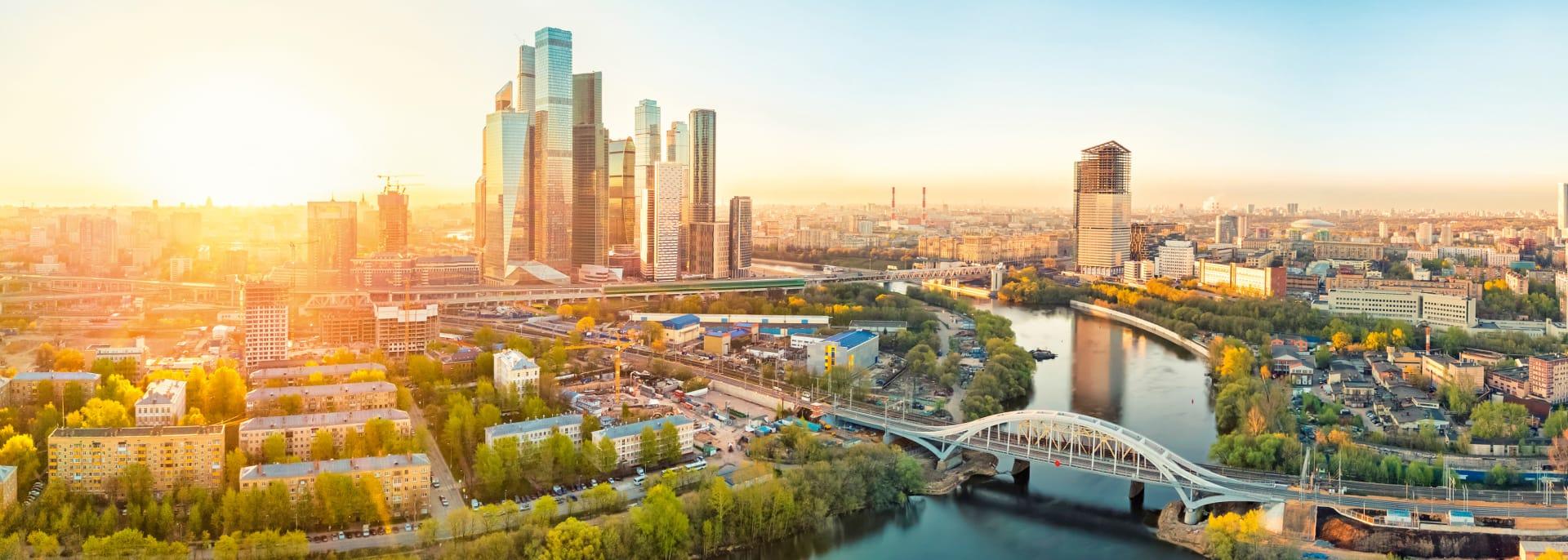 Moskauer Stadtviertel, Moskau, Russland