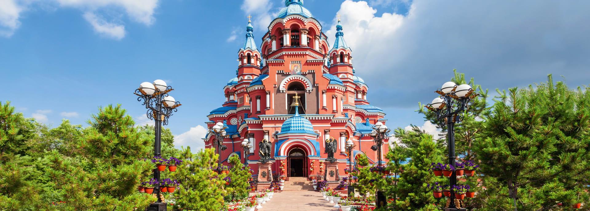 Kathedrale des Kazan-Ikons, Irkutsk, Russland