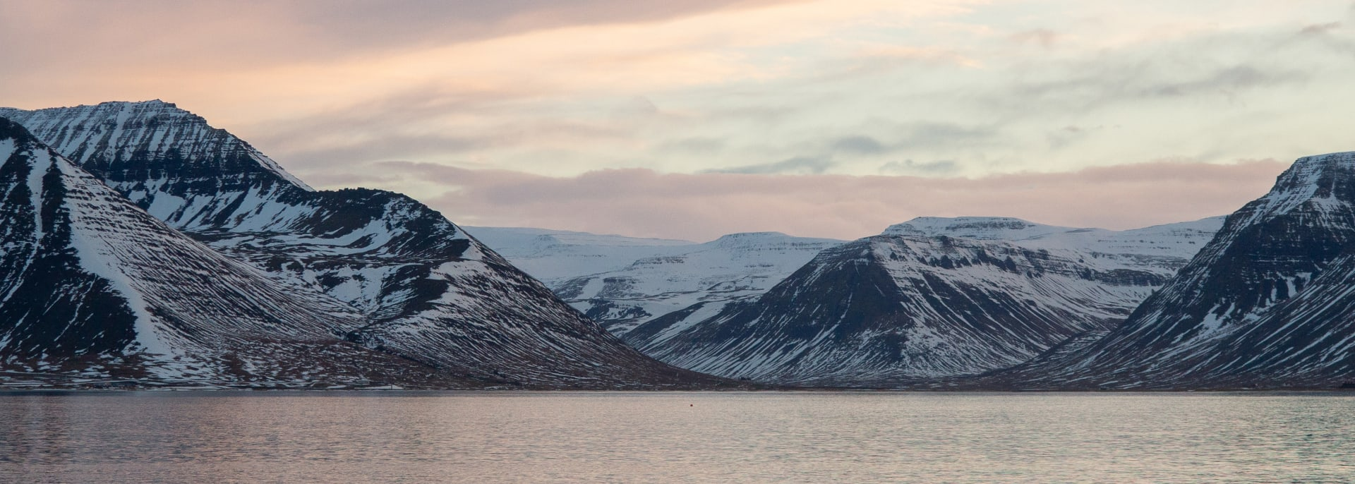 Westfjorde, Island
