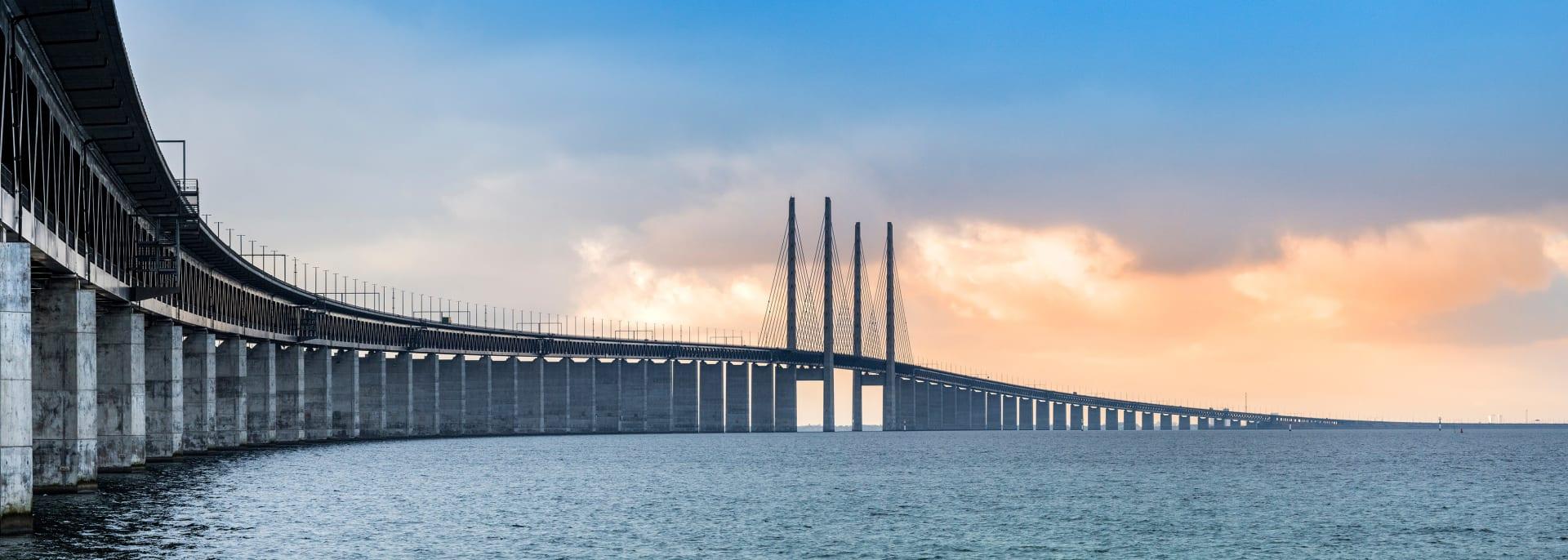 Oresund Brücke, Schweden
