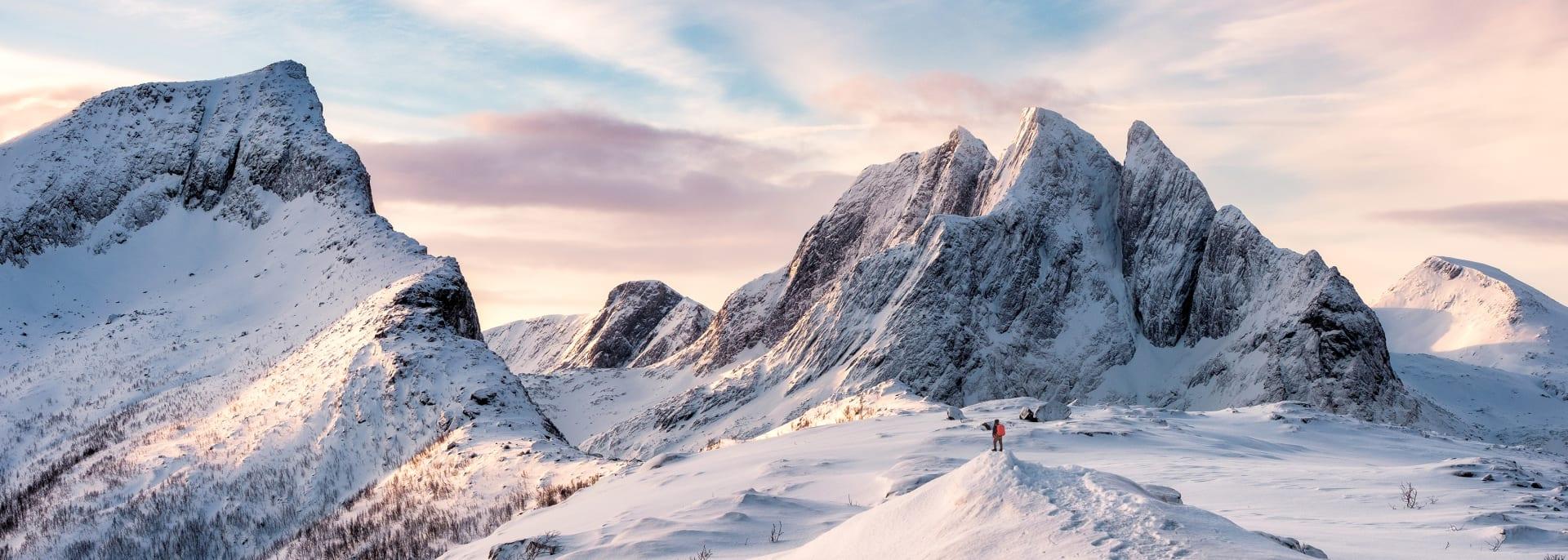 Bergsteiger, Norwegen