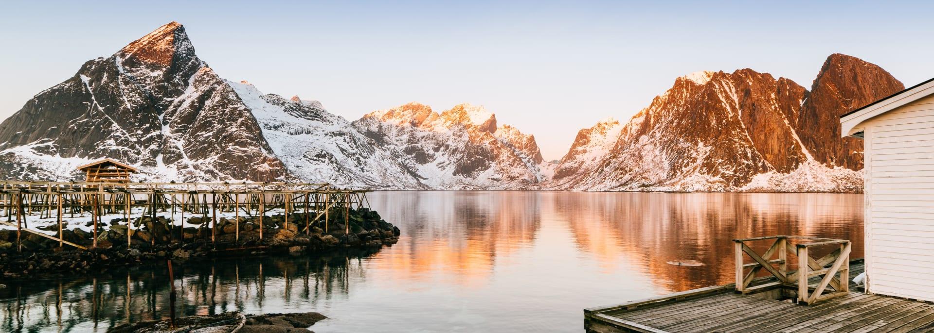 Norwegen Winter