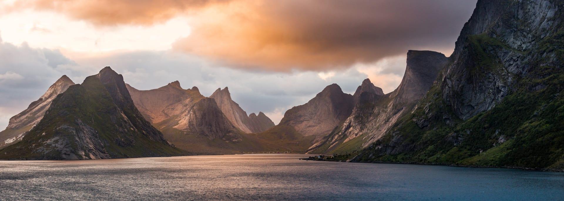 Moskenes, Reine, Norwegen
