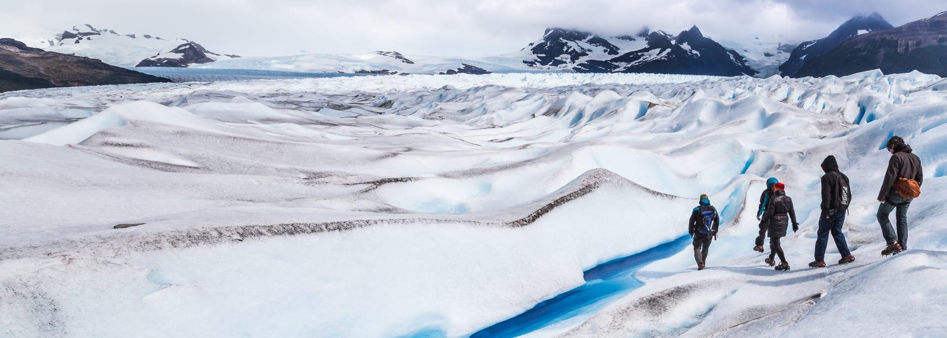 Gletscherwanderung, Moreno Gletscher, Argentinien