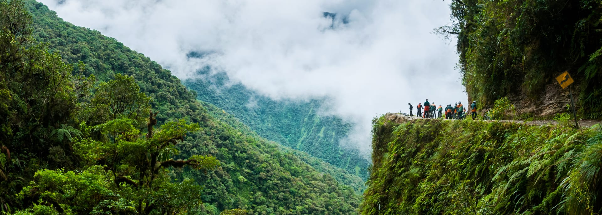 Yungas-Tal, Bolivien