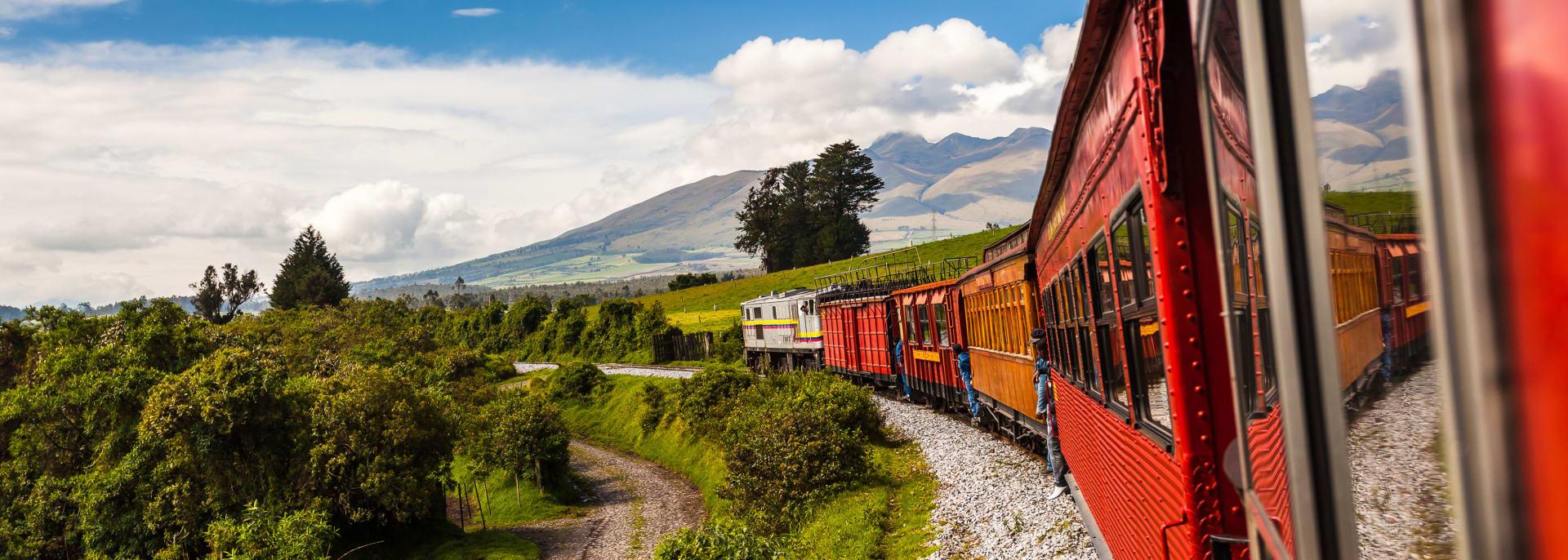 Eisenbahn, Sierra, Ecuador