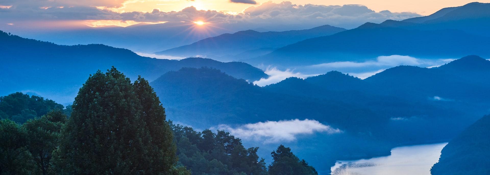 Great Smoky Mountains National Park, Südstaaten, USA