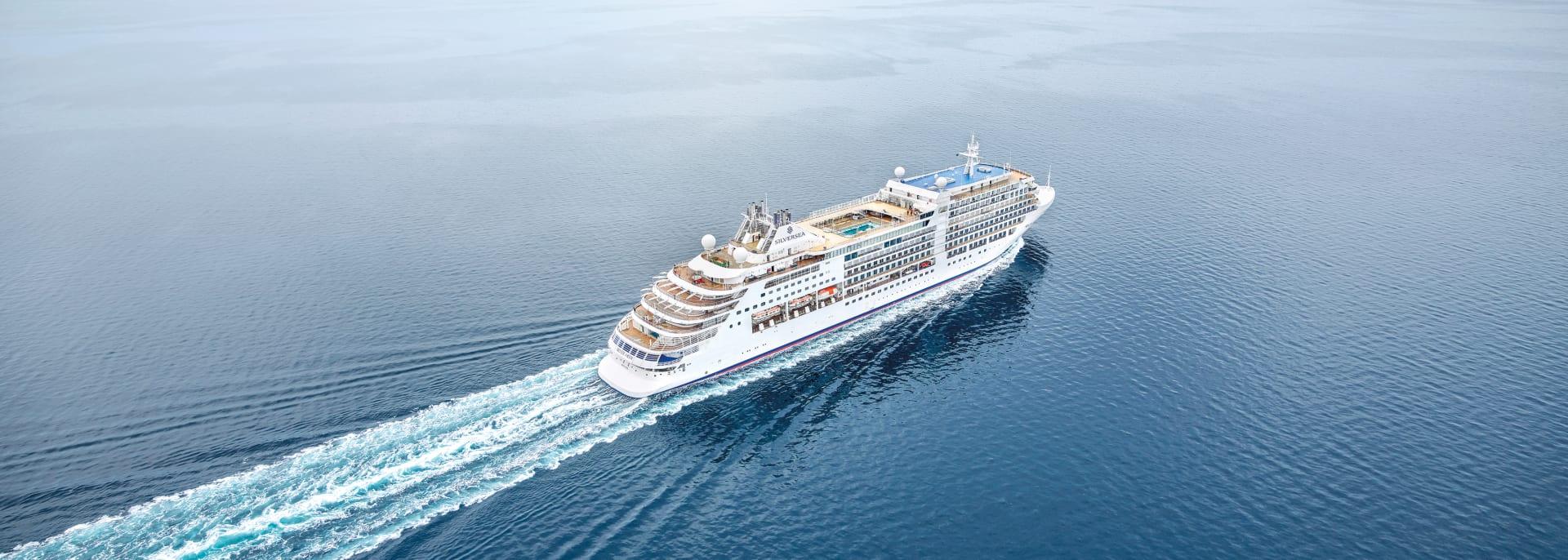 Silversea Kreuzfahrtschiff