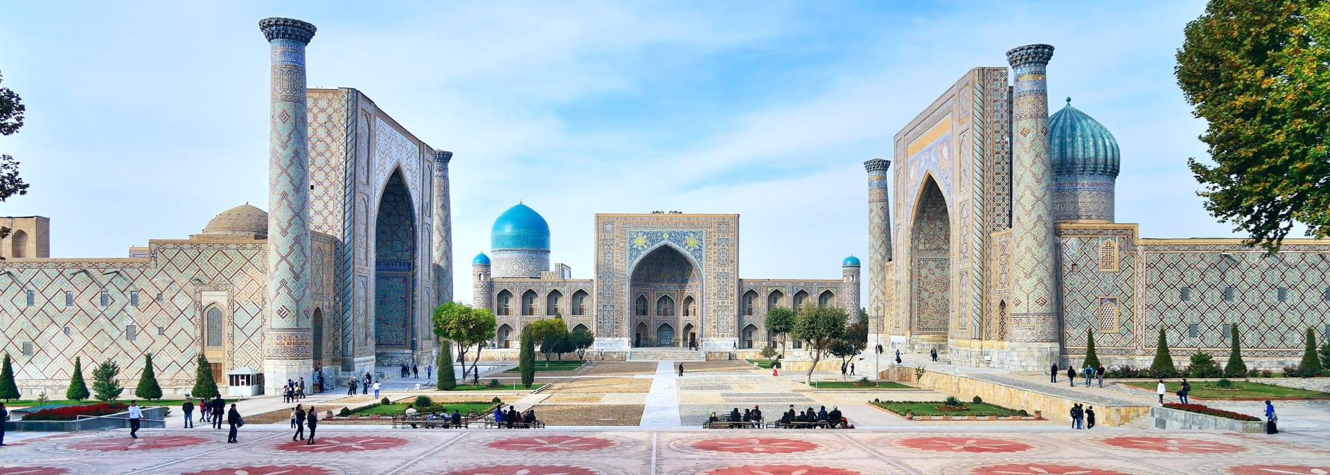 Registan Square, Samarkand, Usbekistan