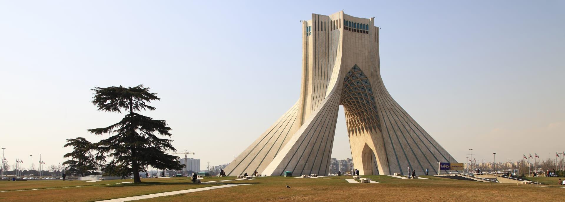 Azadi Square, Teheran, Iran