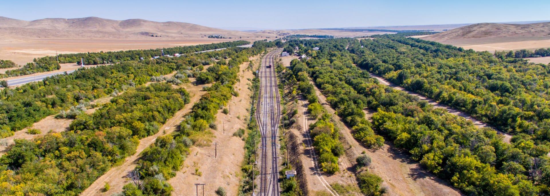 Bahnreisen, Kasachstan