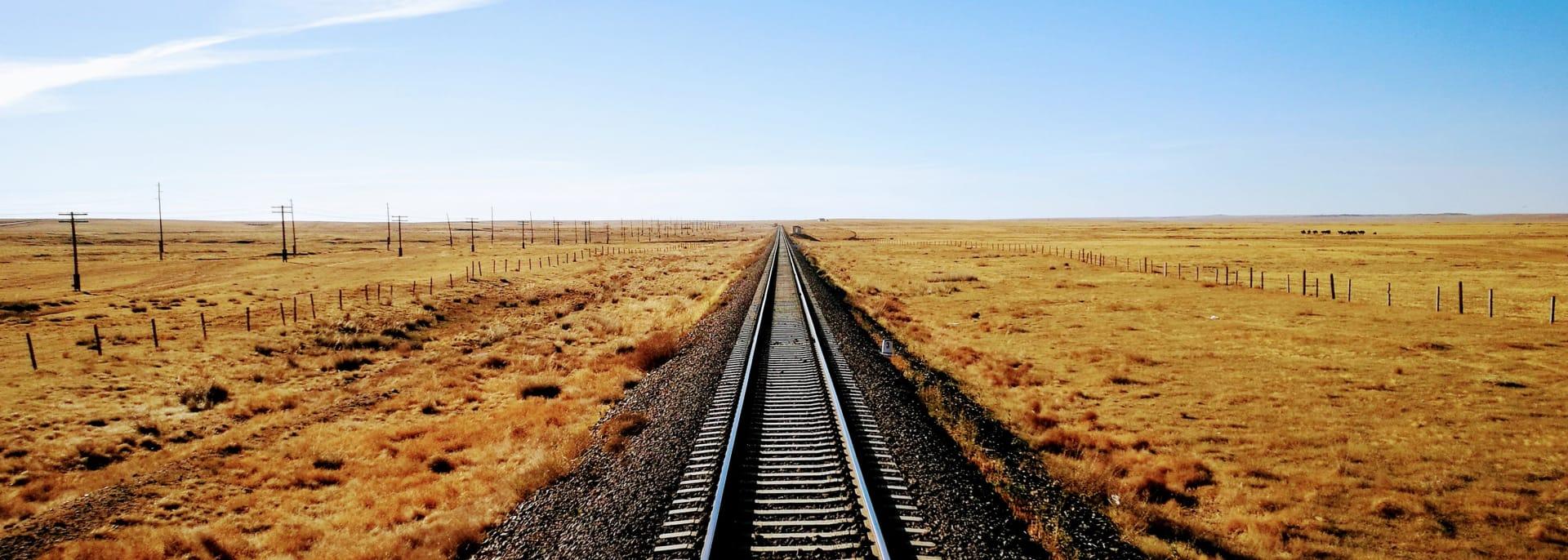 Zugreisen, Zentralasien