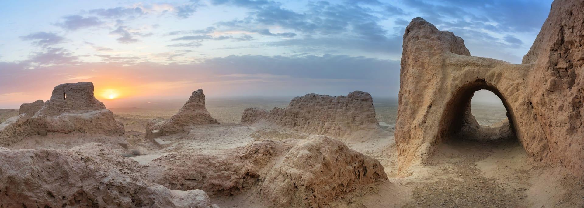 Kyzylkum Wüste, Usbekistan