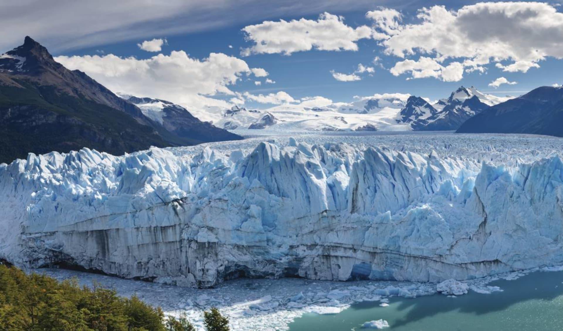 Zubucherreise Buenos Dias Argentina ab Buenos Aires: Argentinien - Perito Moreno - Sicht an Gletscherwand