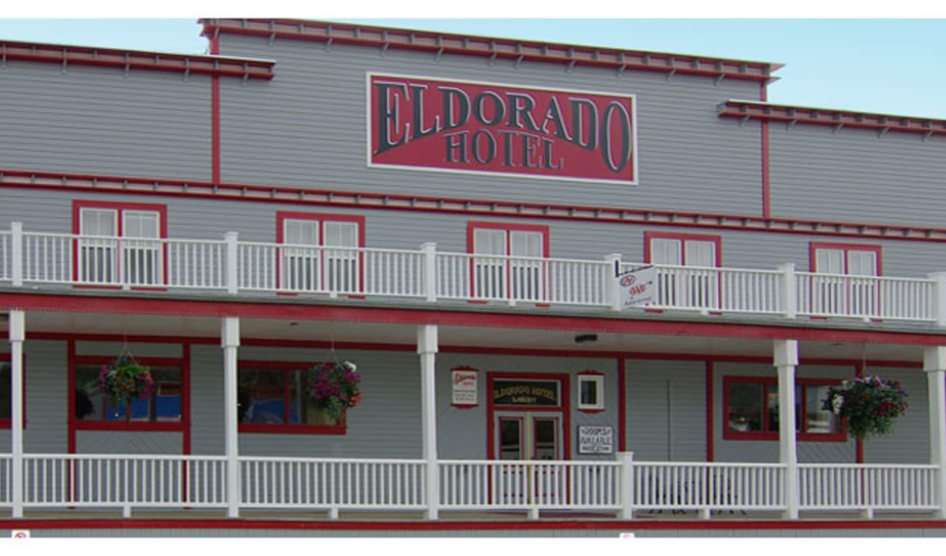 The Eldorado Hotel in Dawson City: eldorado-hotel