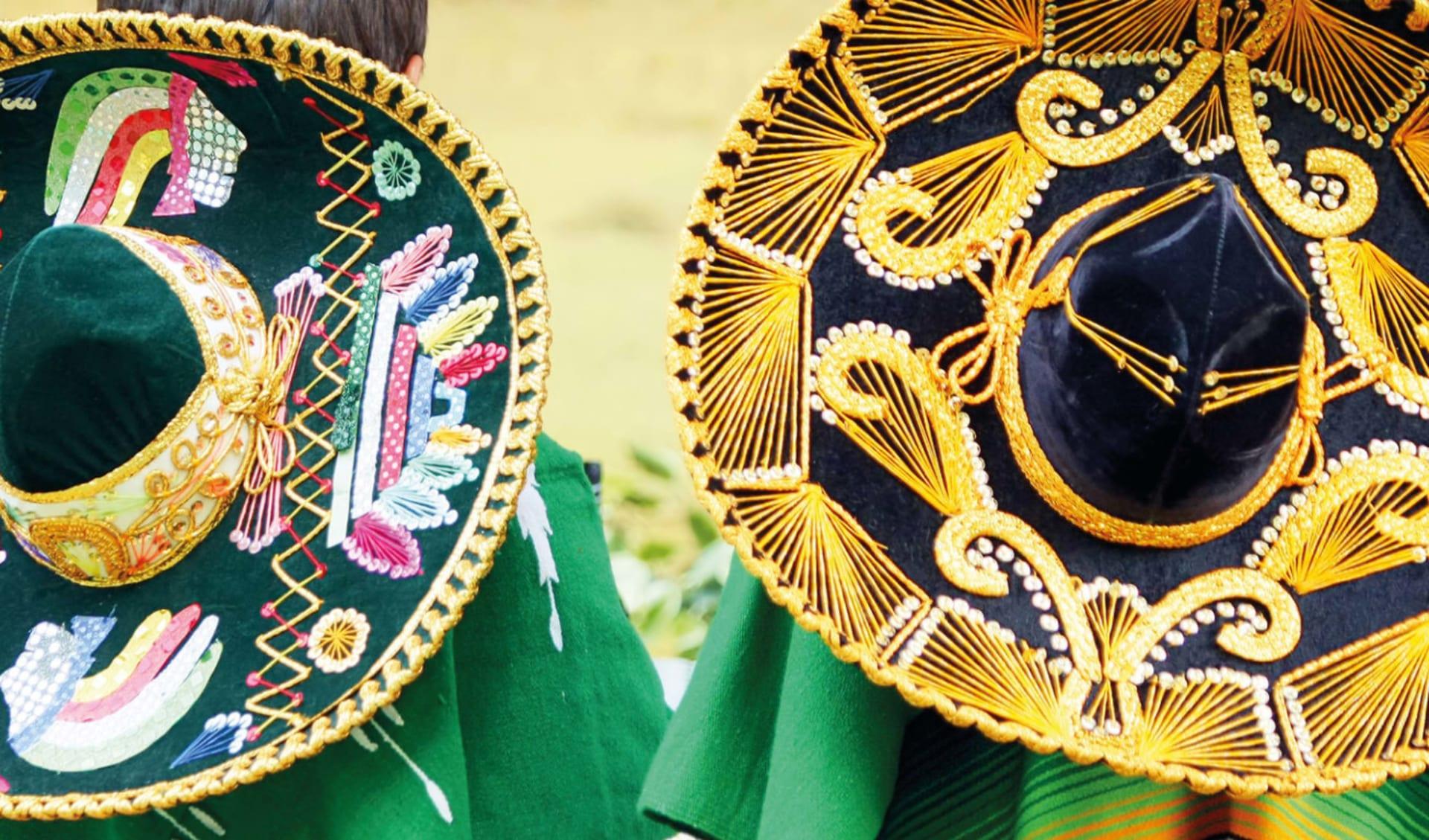 Yucatán Familienreise ab Cancun: Mexiko - Sombreros