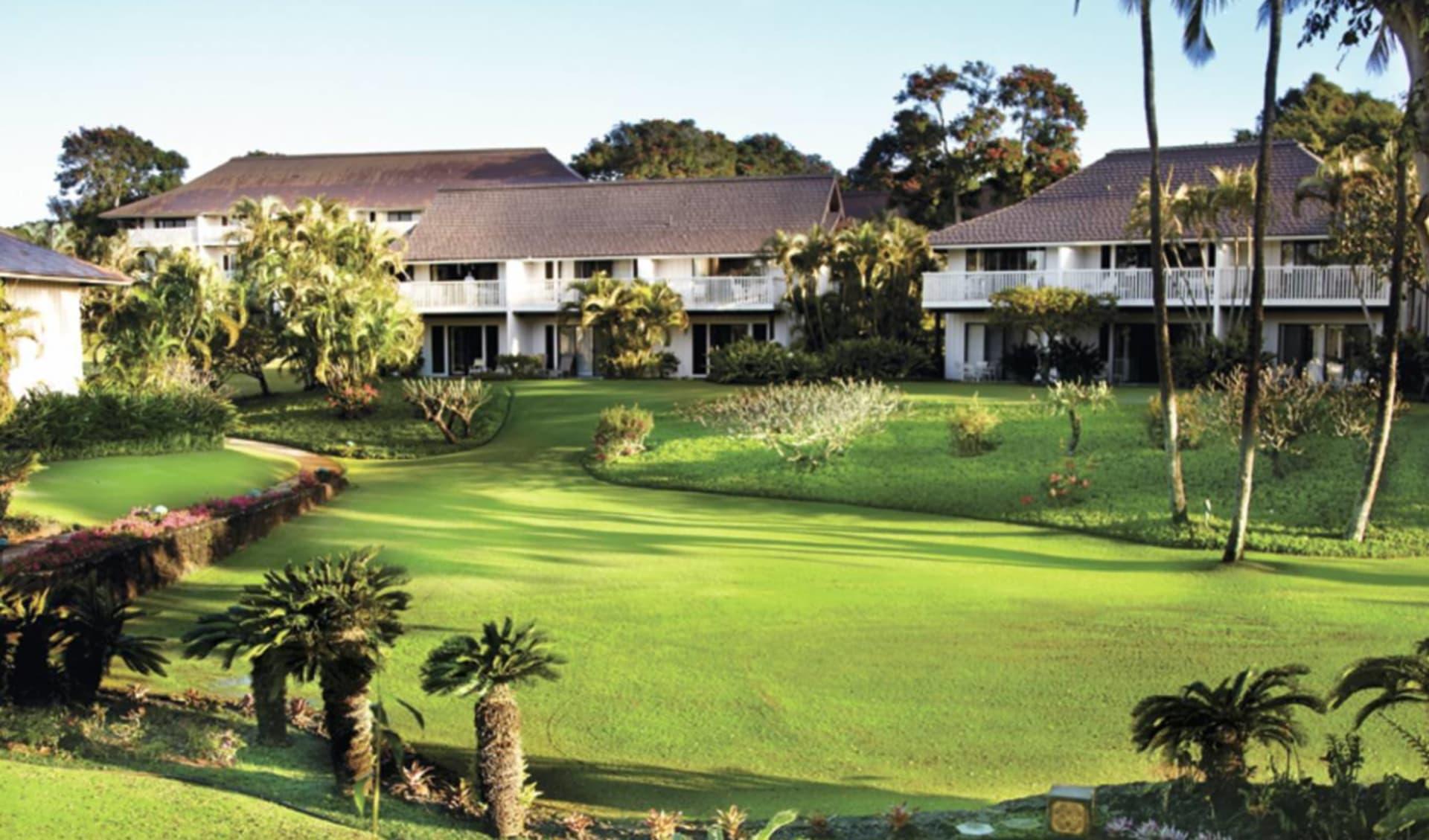 Castle Kiahuna Plantation in Poipu - Kauai: natur castle kiahuna plantation gartenanlage hotel