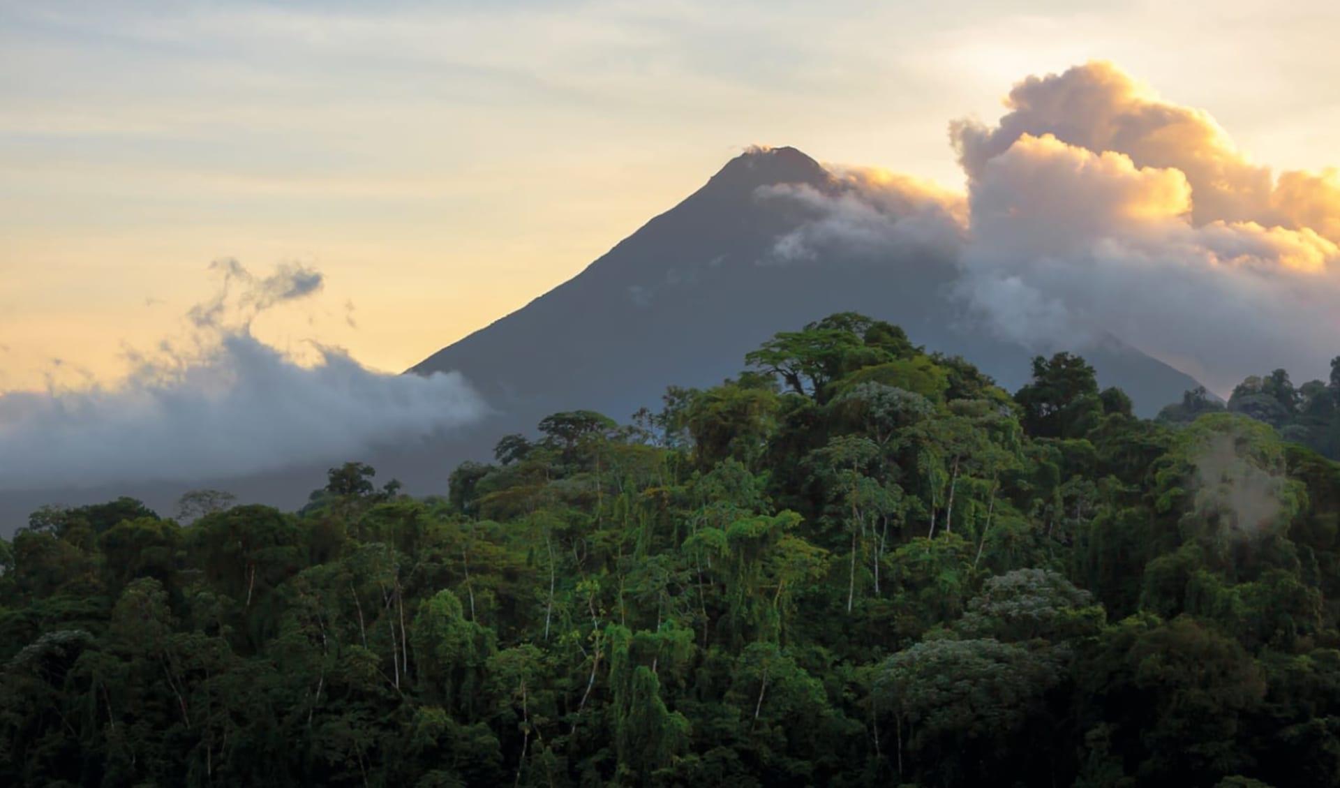 Leserreise Luzerner Zeitung Costa Rica ab San José City: Costa Rica - La Fortuna - Arenal Vulkan