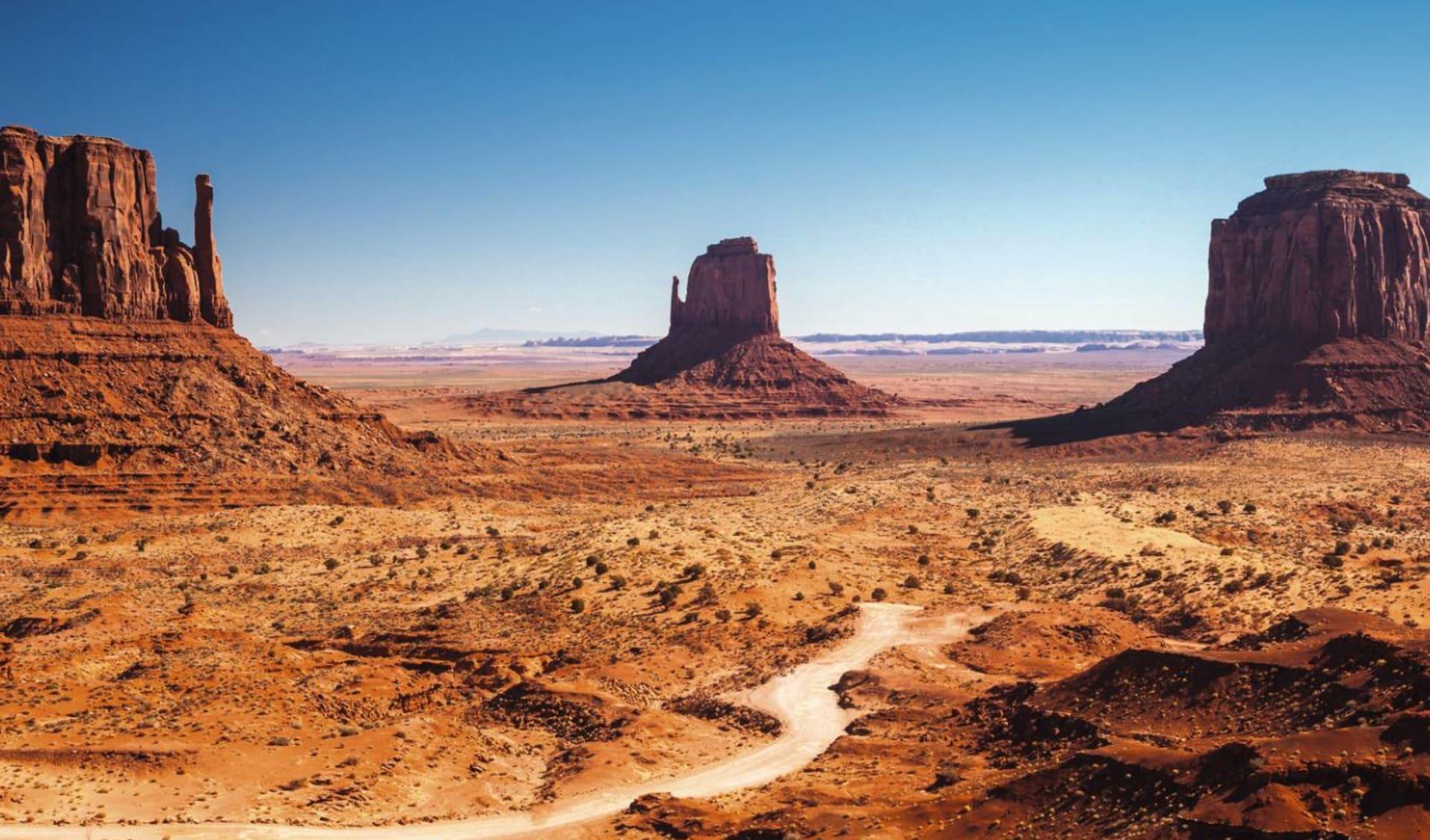 Der Goldene Westen ab Los Angeles: USA - Arizona - Monument Valley