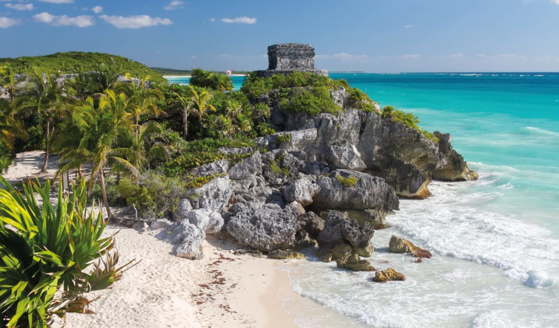 Yucatán und Chiapas ab Cancun: Mexico - Yucatan - Maya Ruinen Tulum
