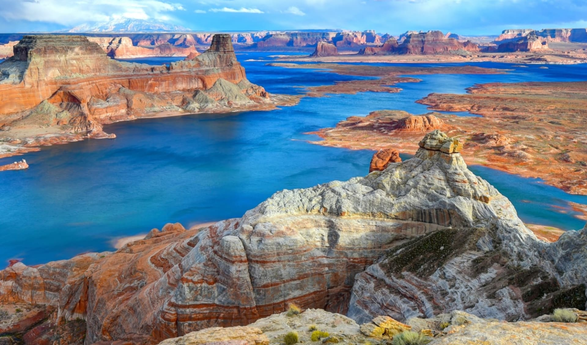 Western Bonanza ab San Francisco: USA - Arizona - Lake Powell Panorama